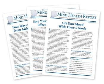Mind Health Report Newsletters